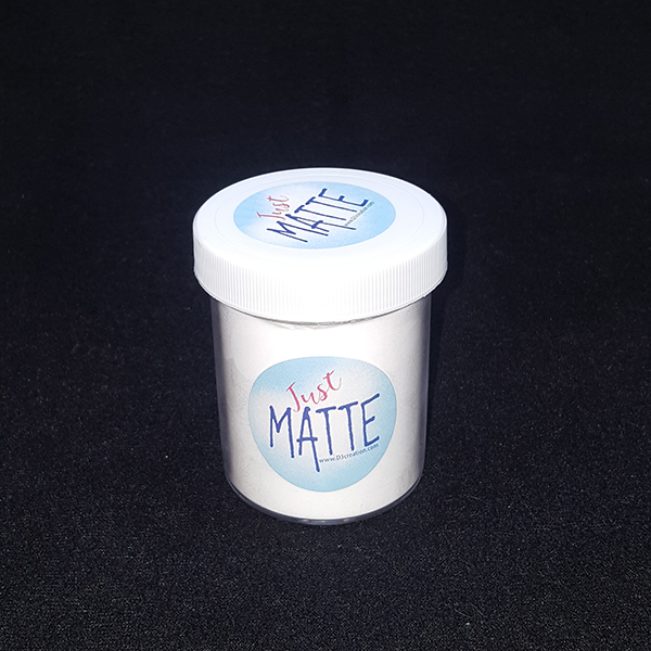 Just Matte 50 gram Jar matting powder for silicone